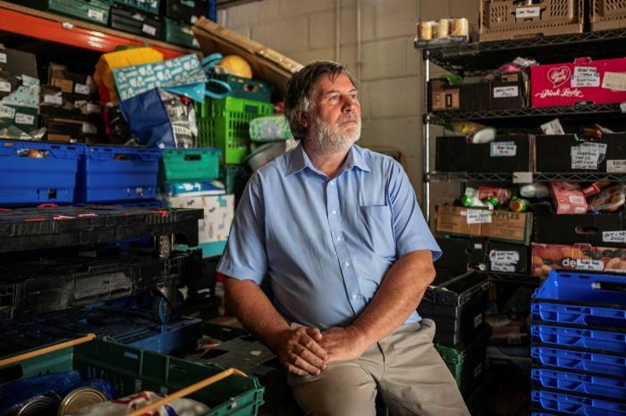 Peter Adams, vice-chair of Luton's food bank