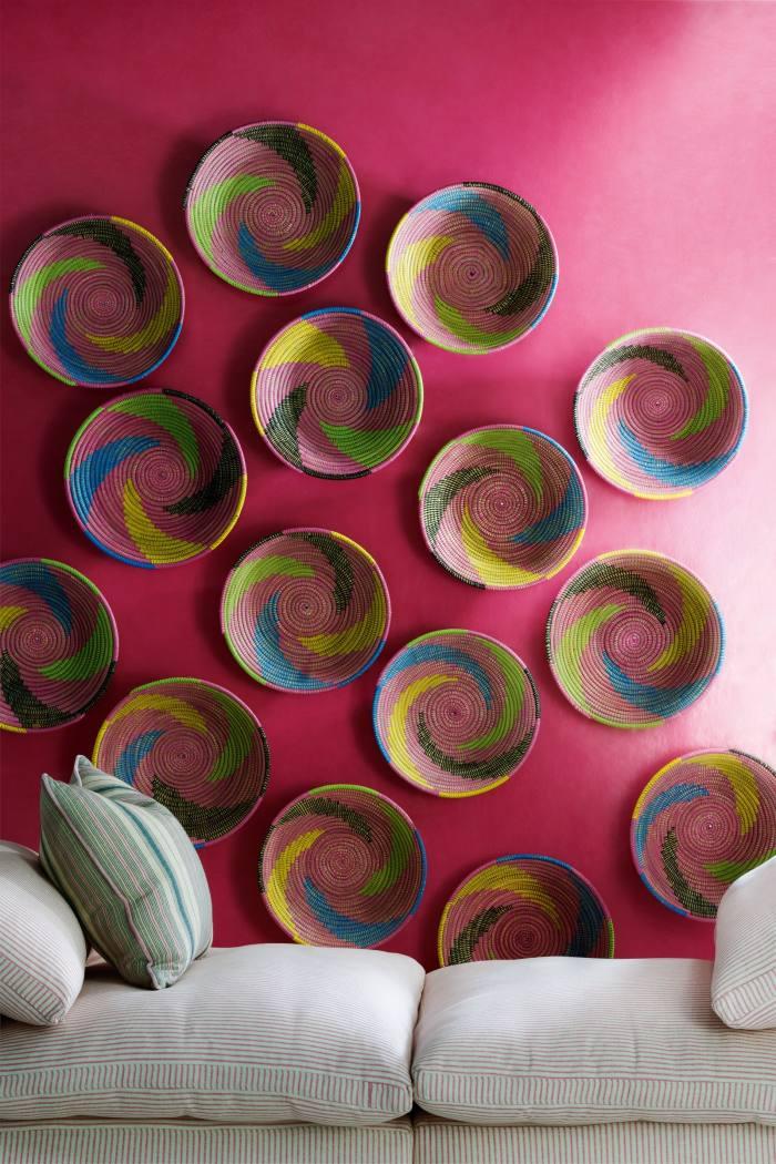 Andrew Martin Japan Indian Pink Wallpaper, £ 44.40 per roll