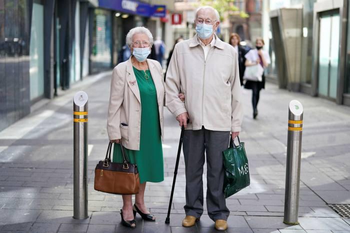 Audrey Murray, 88 anni, e suo marito