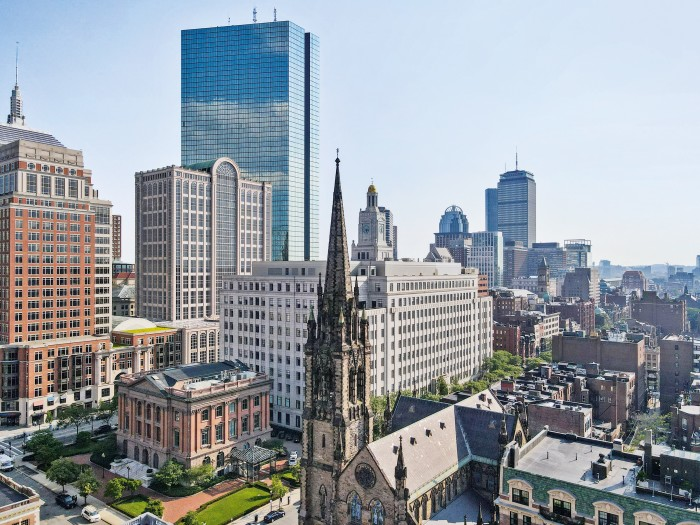 Boston's Back Bay neighbourhood is a popular academic centre
