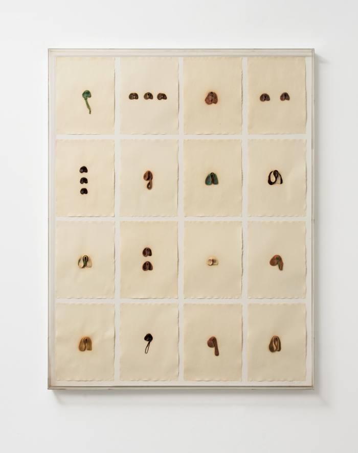 S.O.S.Starification Object Series#4 (Mastification Box), 1975, byHannah Wilke
