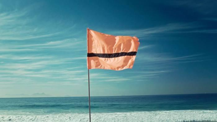 The Refugee Nation flag designed byYara Said