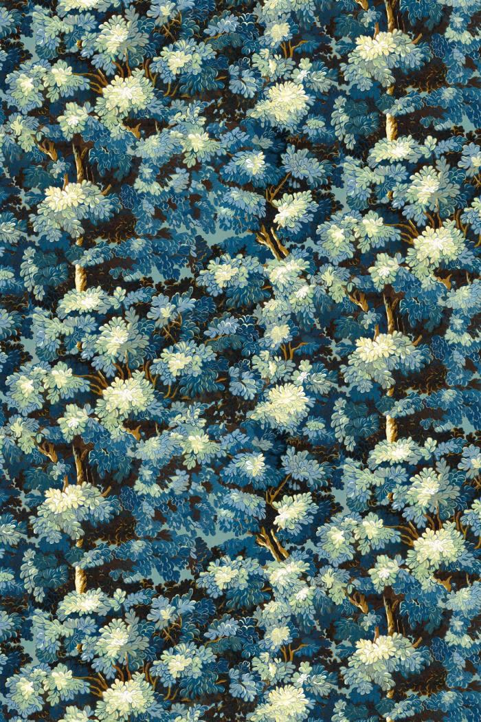 Antoinette Poisson Joli Bois wallpaper, €150 per roll