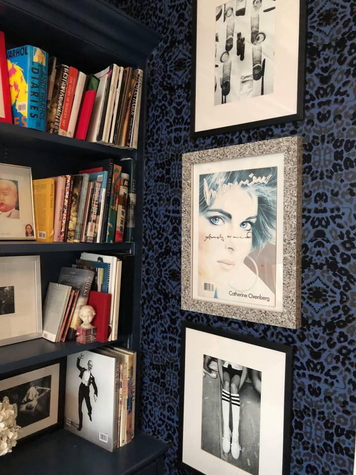 Stylist Bay Garnett's shelves