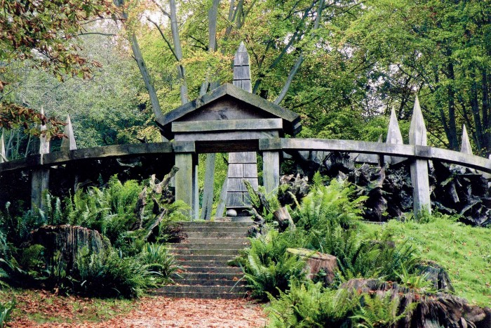 A feature ofthe garden created by Isabel and JulianBannerman at Wormsley Park, Buckinghamshire
