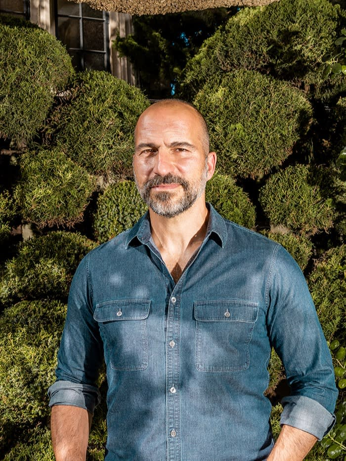 Dara Khosrowshahi believes that success for Prop 22 in California would be the basis for the company to push for similar rules in the rest of the US and even Europe. But he says, 'I'd like to spend less time in court if I can help it'