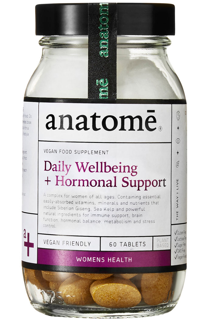 Anatome Daily Wellbeing & Hormonal Support, £28