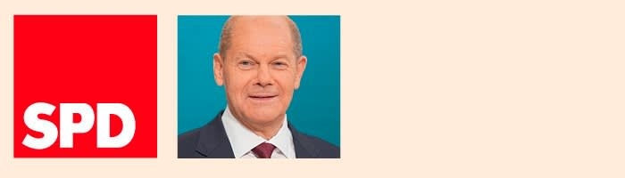 Olaf Scholz, Chancellor of the SPD