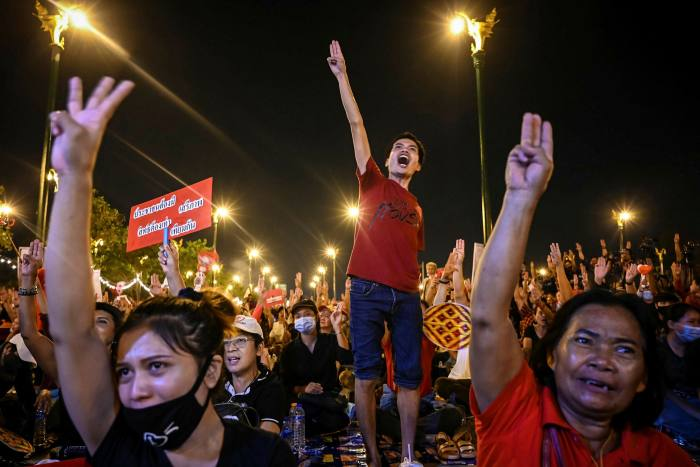 Protests have divided opinion in Southeast Asia's second largest economy, placing companies in the uncomfortable position of having to choose sides or go to extreme lengths to be seen as neutral