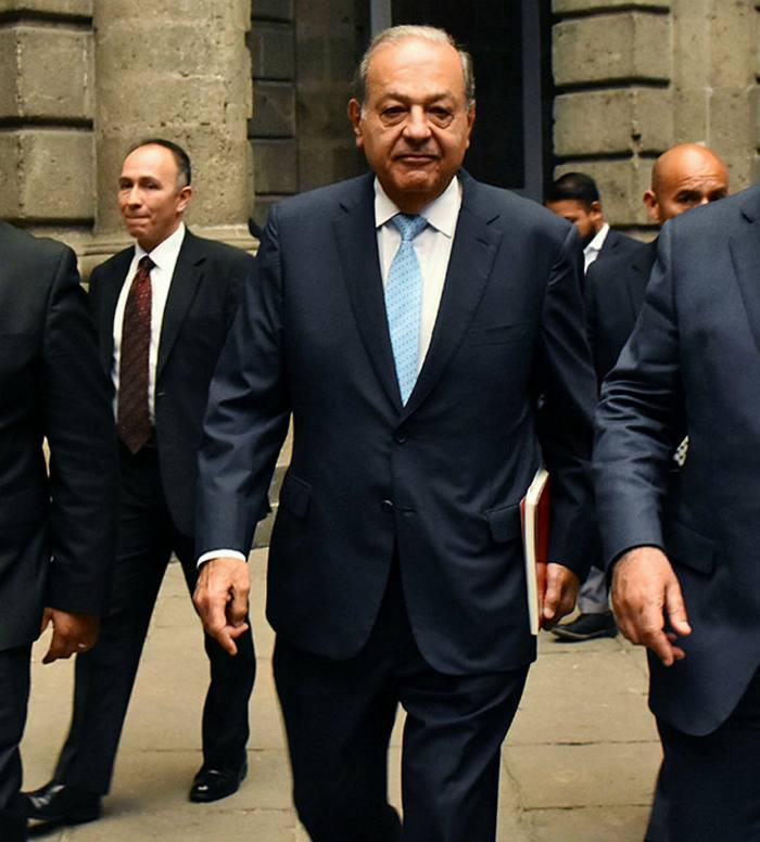 Carlos Slim's wealth equates to 5.3% of Mexico's GDP