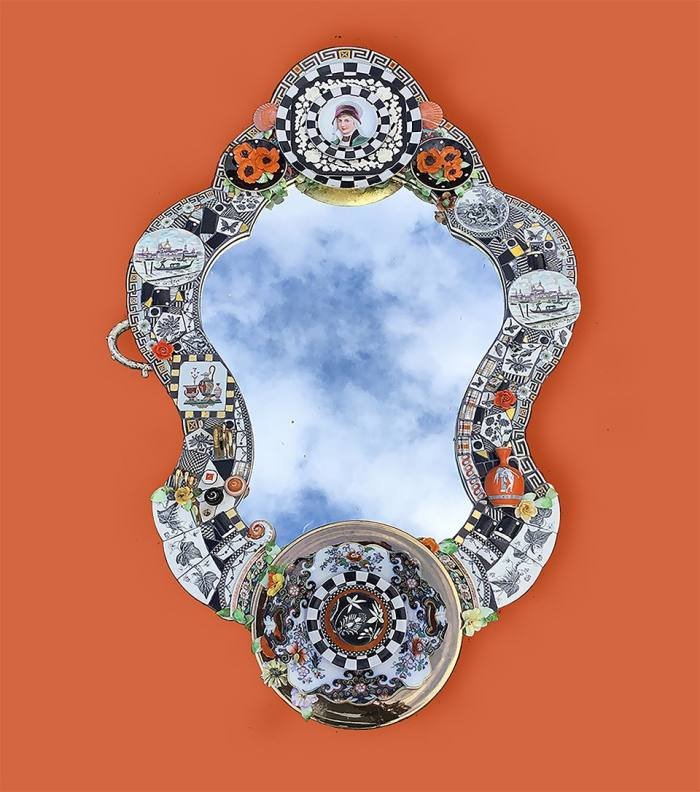 Candace Bahouth mirror, about £5,500