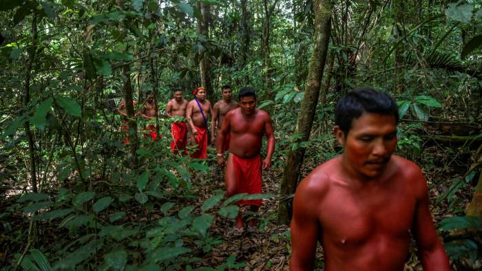 The Amazon region has a large human population