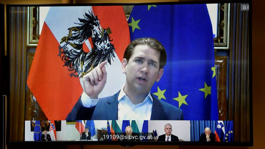 Kurz's vaccine broadsides against Brussels mask problems at home - Financial Times