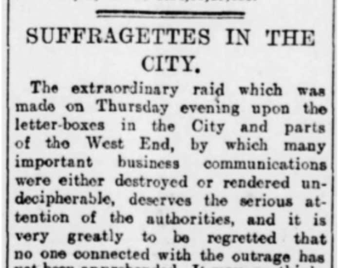 Rapporto del Financial Times nel 1912
