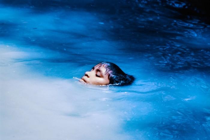 The Young Susi Korihana Thëri Swimming (1972) by Claudia Andujar