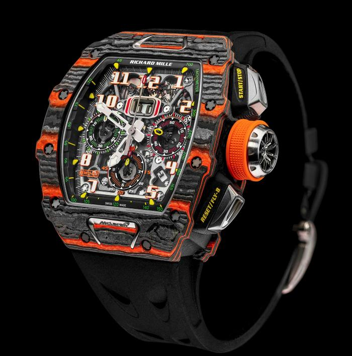 The Richard Mille RM 11-03 McLaren Automatic Flyback chronograph