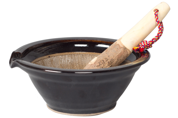 Japanese pestle and mortar, £85, nativeandco.com