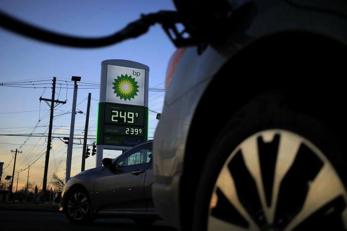A petrol station owned by BP, which has acquired a majority stake in a prominent offset developer, Finite Carbon