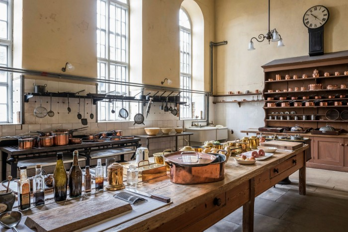 Reached via passageways too narrow for visitors to navigate safely, the magnificent kitchens remain out of bounds