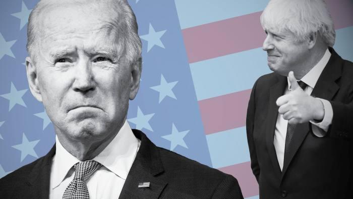 """Résultat de recherche d'images pour """"Boris Johnson, Joe Biden, usa, leadership, 2021"""""""