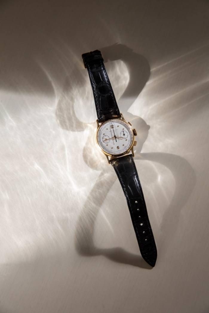 Ephson's stylesignifier, a 1954 Patek Philippe chronograph