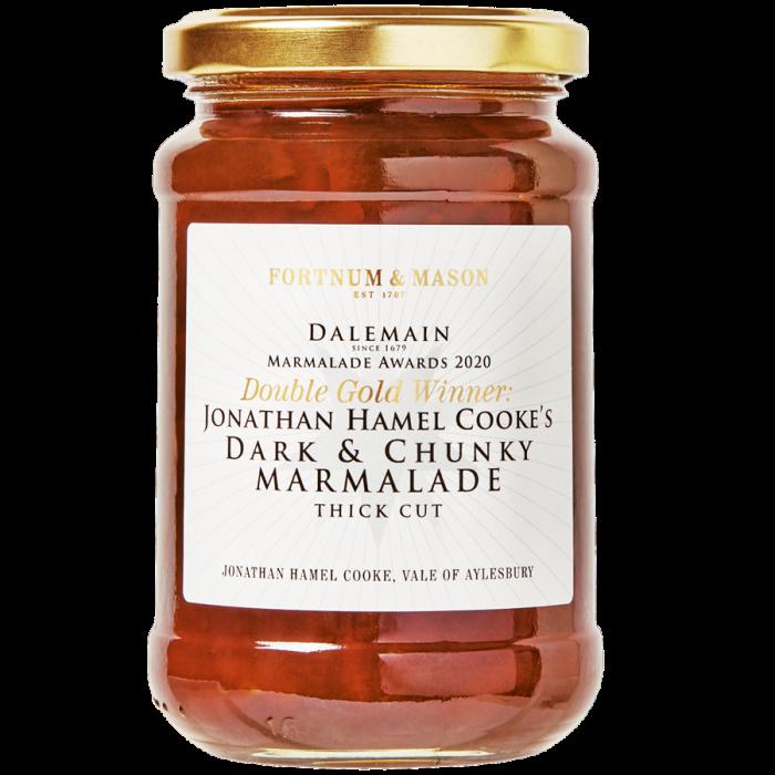 Jonathan Hamel Cooke's Dark and Chunky marmalade, £5.95, fortnumandmason.com
