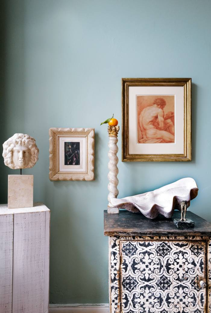"""A """"still life"""" cornercurated by Katharina Herold, art consultant and stylist"""