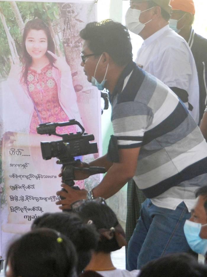 Thann Htike Aung, a journalist with Mizzima