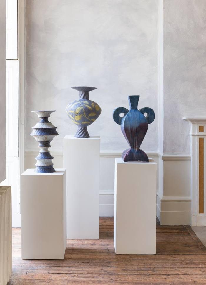 Ceramics by Peter Schlesinger at Tristan Hoare