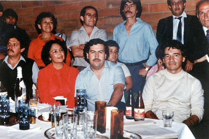 Colombia produces more cocaine now than it did in the early 1990s when drug cartel leader Pablo Escobar (C) was at the height of his notoriety