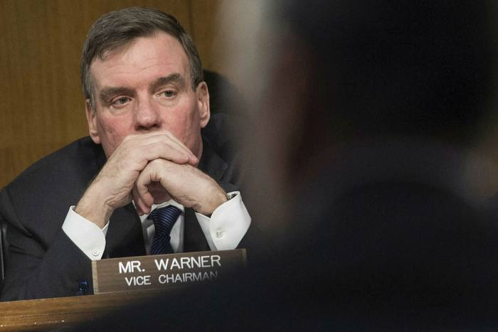 Mark Warner of the US Senate intelligence committee says Beijing is intending to control digital infrastructure and, as it does so, to impose principles that are antithetical to US values