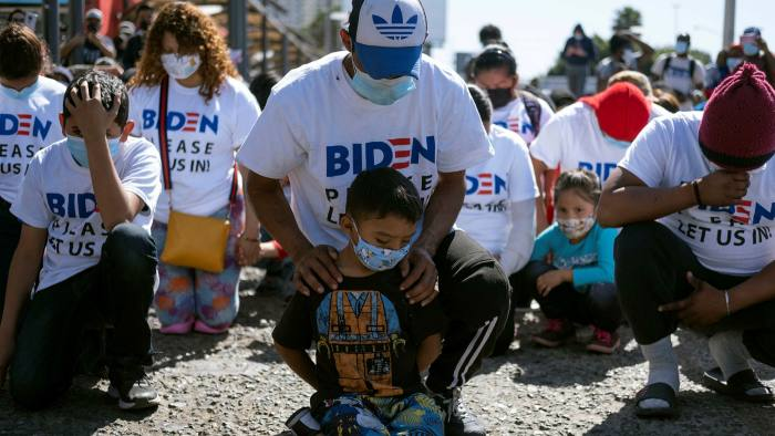 We have faith Biden will let us cross': migrants huddle at US-Mexico border | Financial Times