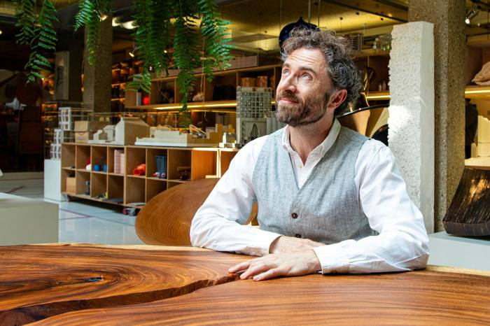 The designer Thomas Heatherwick