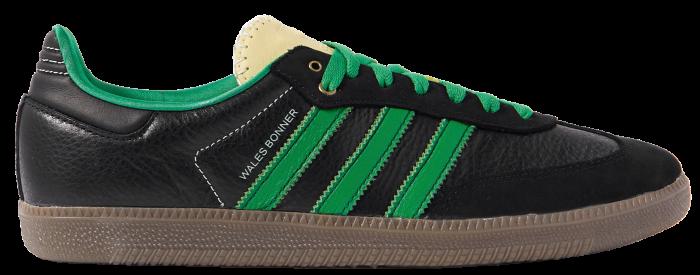Scarpe da ginnastica Adidas Consortium x Wells Bonner in pelle Samba, £ 160