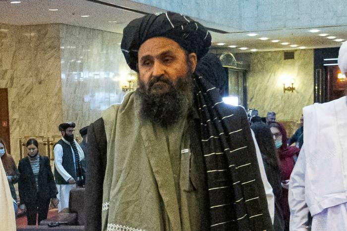 Taliban co-founder Mullah Abdul Ghani Baradar in Russia in March