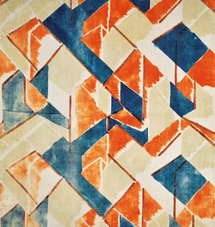 Maud fabric by Vanessa Bell, sold for £8,750