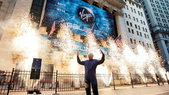 The fund will invest in stocks that are being most talked up on social media, such as Virgin Galactic, which is the largest constituent of the underlying index