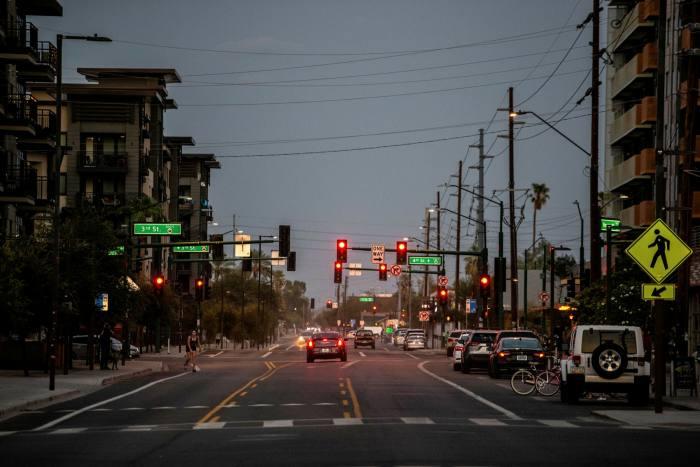 Phoenix à la hausse: la ville de l'Arizona est une destination populaire pour ceux qui cherchent à quitter des villes chères telles que Los Angeles