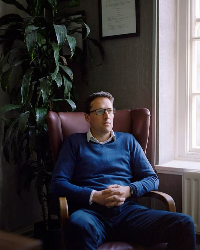 James Ewins, a family-law barrister: 'My suspicion is the information meeting might bring to light a group of people for whom [legal] remedies are not available, despite the fact that they should be'
