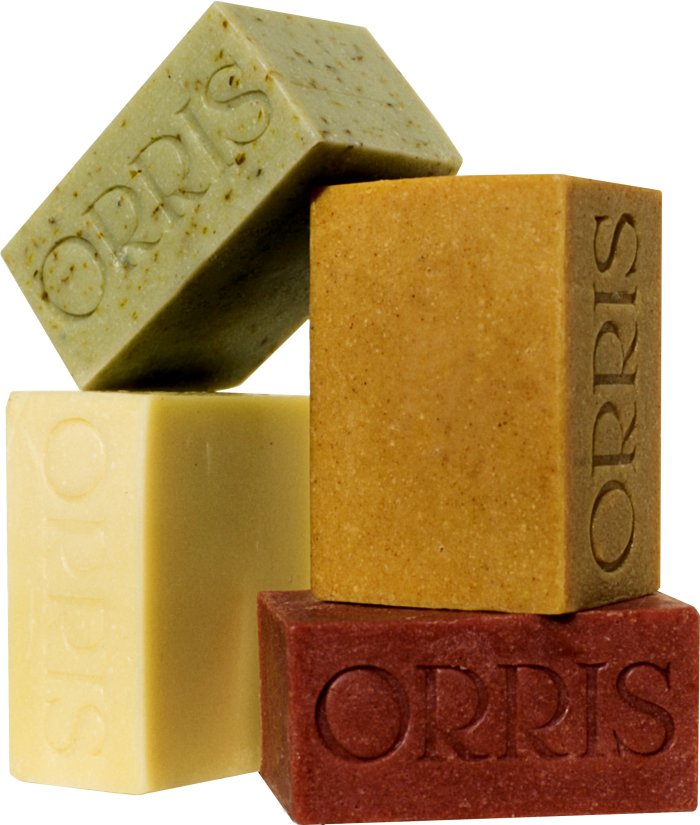 Orris Le Quartet soaps, €60