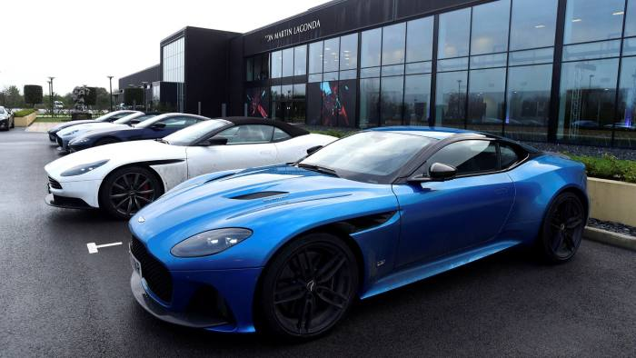Aston Martin Losses Quadruple As It Clears Out Dealerships Financial Times