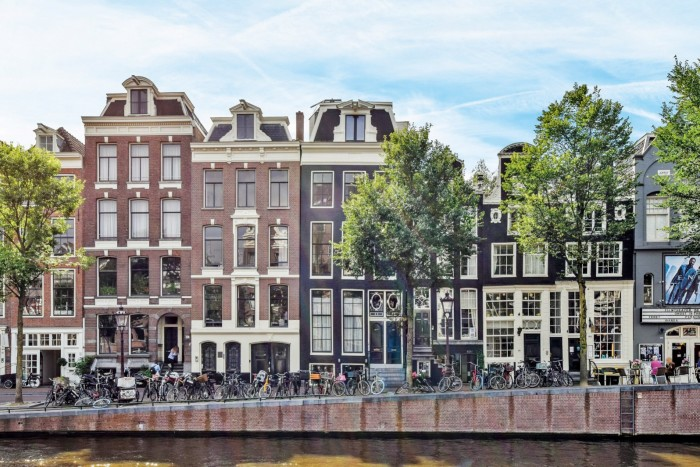 This two-bedroom apartment in Amsterdam is €795,000 through Engel &Volkers