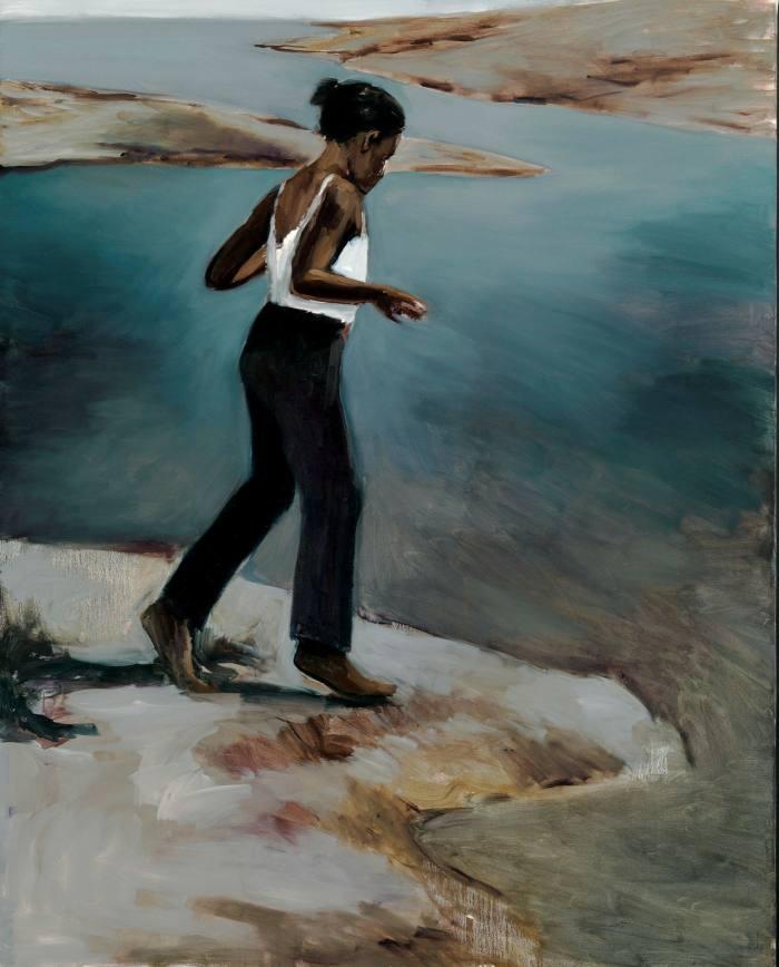 'Invasions' (2013) by Lynette Yiadom-Boakye