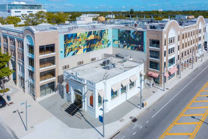The Moore Building in Miami Design District, which will host the Design Miami fair from November 27