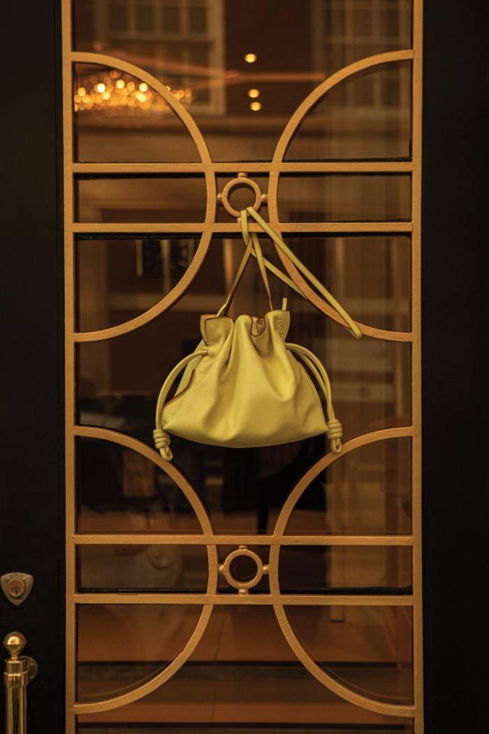 Loewe leather Flamenco clutch, £1,700
