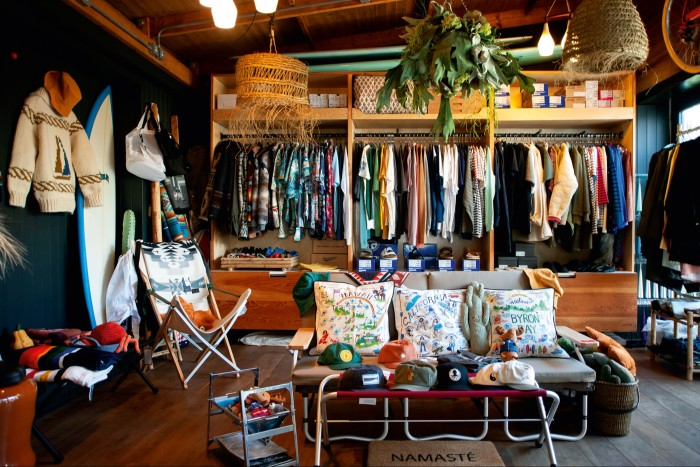 The look of the store was inspired by Ralph Lauren's RRL