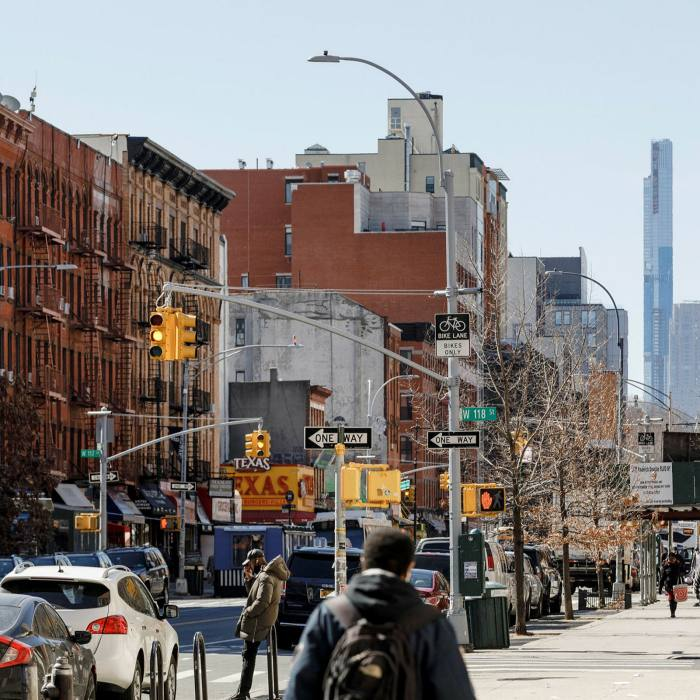 Samuelson loves Harlem for its energy, diversity and creativity