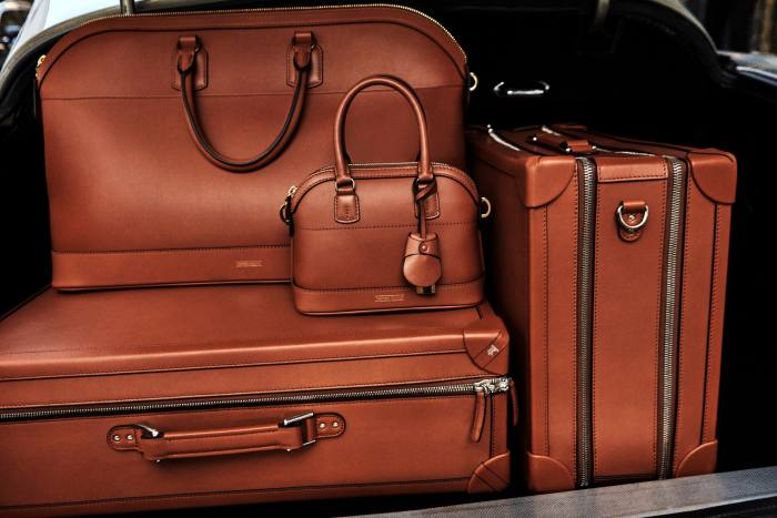 The new Tanner Krolle collection includes trunks and carryall bags