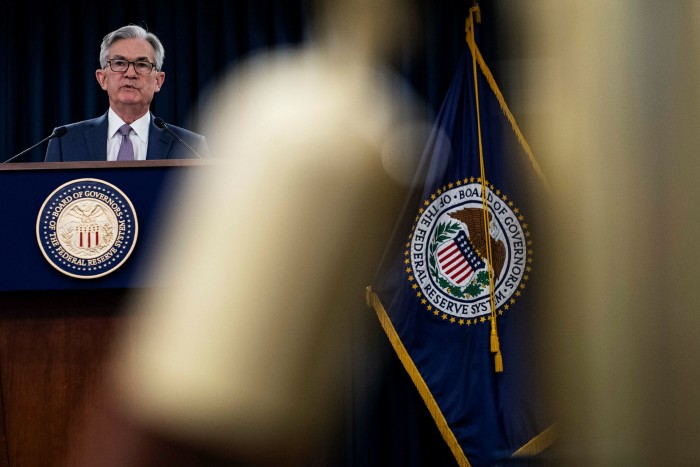 Fed chair Jay Powell has pressed ahead with plans to reduce the $120bn a month asset purchase programme the central bank had pledged to maintain until it saw substantial progress on average 2 per cent inflation and maximum employment