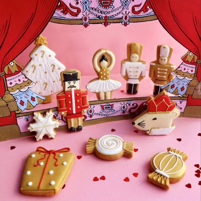 Biscuiteers Nutcracker biscuit tin, £35